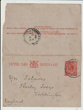 "SOUTH AFRICA - ""PILGRIMS REST TRANSVAAL"" 1914 GV LETTER CARD"