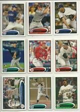 2012 Topps Lot/1250 Baseball Cards Bryce Harper Darvish Cespedes Iwakuma