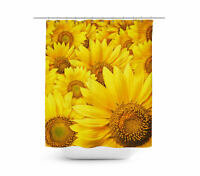 Sunflowers Shower Curtain - Vinyl Anti-Bacterial