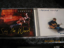 CD STUART TOWNEND CDS X2 PERSONAL WORSHIP AND SAY THE WORD  VGC
