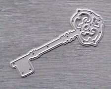 Corte De Metales Die-Pretty florecer clave House (Hogar)