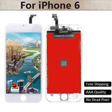 White LCD Touch Screen Digitizer Assembly Replace Frame For iPhone6 A1549 A1586
