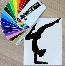 Ginnastica danza balletto Sticker Vinyl Decal Adesivo Murale Finestra LIBRO Laptop #4