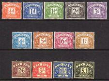 D56-68 1959-63 spese di spedizione a causa di unmounted Nuovo di zecca (521)