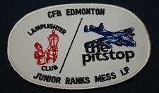 ROYAL CANADIAN AIR FORCE RCAF CFB EDMONTON LAMPLIGHTER JR MESS  PATCH BADGE