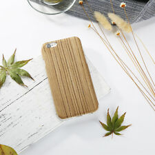 Easyacc Bamboo Wood Flip Case For Apple iPhone5 Natural Wooden Back Cover