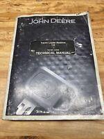 John Deere 110 Tractor, Loader, Backhoe, Technical Service, Repair Manual TM1987