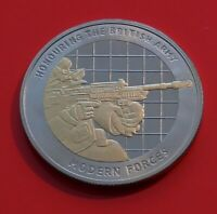 Medallion Assault Rifles Gun Weapon Modern Forces British Army Commemorative