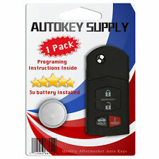 Replacement For Mazda Mx 5 Miata 2011 2012 2013 2014 2015 Remote Flip Key Fob Fits Mazda