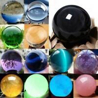 Natural Quartz Magic Gemstone Sphere Crystal Reiki Healing Ball Stone Rare Lot