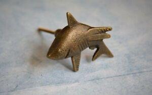 Shark Shaped Iron Animal Antique Bronze Cabinet Knob   Metal Drawer Handle 8