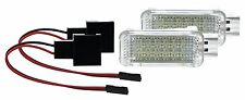 2 X Fußraumbeleuchtung Audi A4 Limousine Avant Allroad Cabrio LED SMD Modul WEIß
