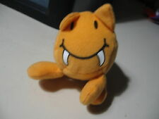 """4"""" plush Saber Toothed Tot doll, from Dino Tots, by Sonic Wacky Pack, good cond."""