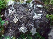 Hand made Pagan Wiccan calendar bracelet Charms represent  the 8 Witches Sabbats