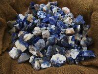 Sodalite Rough - Very High Quality - 2000 Carats + A FREE Faceted Gemstone