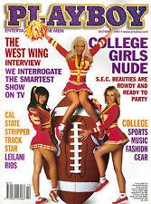 US-Playboy Oktober/10/2001  LEILANI RIOS & STEPHANIE HEINRICH
