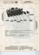 Bogen Eqr, Lcs, R701 Tuners-Sams Photofact Tech Docs