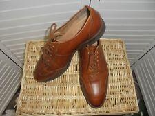 Crockett & Jones Brown Leather Shoes Men's Size US 9.5 EUR 43 Lace Up Oxfords