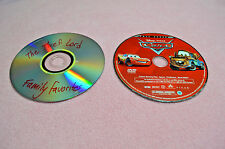 LOT of 2 DVDs DISNEY Pixar CARS and THE THIEF LORD DVD MINT Fantasy FAMILY