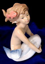 NAO BY LLADRO #1459 SEA MAIDEN BNIB GIRL MERMAID FISH FANTASY CUTE SAVE$ FREE SH