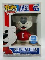 FUNKO POP ICEE POLAR BEAR AD ICONS CYBER MONDAY LIMITED SHOP EXCLUSIVE