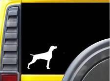 Weimaraner K757 6 inch Sticker dog decal