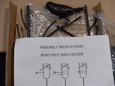 Birdfeeder Oriole Wire Fruit Orange Spear Kabob Bird feeder (2 pieces) - New