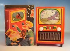 Philipp niedermeier pn 100 Baby Television caja musical de chapa en o-box 50er/60er JH