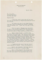 Orville Wright Typed Letter Signed: Famed aviator writes about first flight