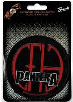 Official Licensed Merch Woven Sew-on PATCH Heavy Metal Rock PANTERA CFH Circle
