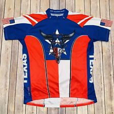 Primal Mens Don't Mess With Texas Cycling Bike Bicycle Race Jersey Sz 2XL XXL