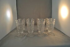 IMPERIAL GLASS CAPE COD JUICE COCKTAIL FOOTEDED TUMBLER SET OF 8