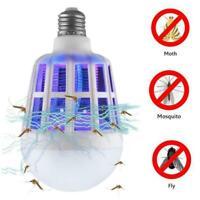 2 in 1 Light Zapper LED Lightbulb Bug Mosquito Fly Insect Killer Bulb Lamp Home