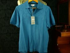 Tags new tags Musto Polo Shirt Blue Padded Shoulders Sz S Small slim medium