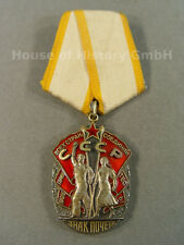 75105, Orden Zeichen der Ehre, Verleihungsnr.: 238319, 2. Form, an Spange