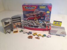 Micro Machines Aircraft Carrier In Box + 10 Vehicles + 12 Aircraft Lot L@@K