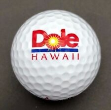 Dole Hawaii Logo Golf Ball (1) Spalding 90 Touring Pro PreOwned