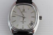 orologio zenith automatico datario anni '70 uomo  acciaio
