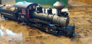 ON30 Bachmann Spectrum 25962 Baldwin 2-8-0 Die Cast Train Locomotive & Tender