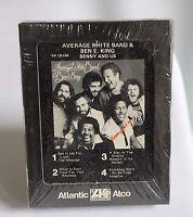 Average White Band Sealed 8-Track Tape Cartridge Ben E King Benny & Us New NOS