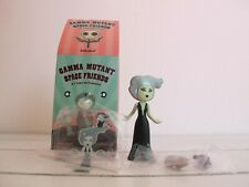 Kidrobot Gamma Mutant Space Friends Zombirella Tara Mcpherson Vinyl Toy Signed