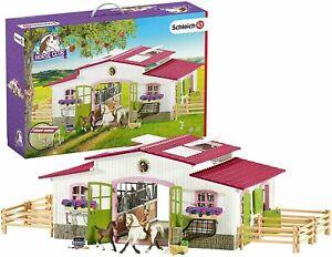 Schleich Riding Centre With Rider & Horses 42344 Schleich Horse Club Set