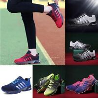 Men's Running Sneakers Breathable Outdoor Sports Shoes Comfy Lace Up Trainers EE