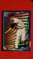 2015 BOWMAN CHROME PROSPECTS TIM BERRY BLUE WAVE REFRACTOR