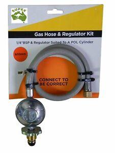 Gas Hose & Regulator Kit 2kg 600mm Camping Hiking