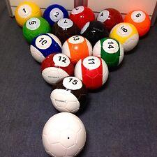 5# 16 Snooker Soccer Snook Ball Snookball Game Huge Football Include Air Pum Toy