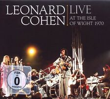 "Leonard Cohen ""Live at the Isle of wight 1970"" CD + DVD"