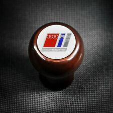 AUDI WOOD SHIFT KNOB 80 B4 RS2 AVANT PORSCHE P1 QUATTRO 20V TURBO SPORT 94-95