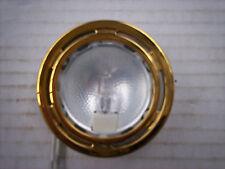 Pair of Gold Recessed Spot Light 12v G4 bulb