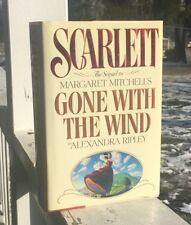 Scarlett 1991 By Alexandra Ripley 1st Printing Hardback Dust Jacket Nice